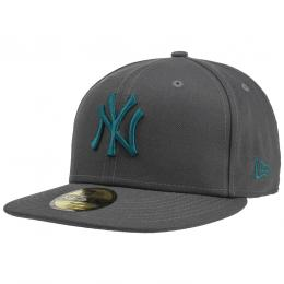 59Fifty Ess MLB Yankees Cap by New Era  , Gr. 7 1/8 (56,8 cm), Fb. anthrazit