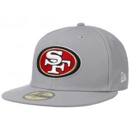 59Fifty GCP 49ers 1 Cap by New Era  , Gr. 7 1/8 (56,8 cm), Fb. hellgrau