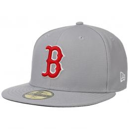 59Fifty GCP Red Sox 1 Cap by New Era  , Gr. 7 1/4 (57,7 cm), Fb. hellgrau