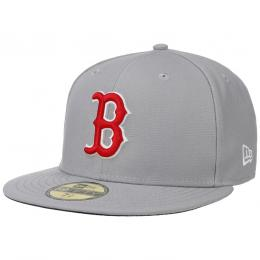 59Fifty GCP Red Sox 1 Cap by New Era  , Gr. 7 5/8 (60,6 cm), Fb. hellgrau