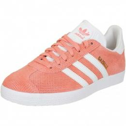 Adidas Originals Damen Sneaker Gazelle sunglow/weiß