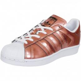 Adidas Originals Damen Sneaker Superstar copper