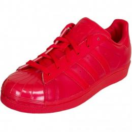 Adidas Originals Damen Sneaker Superstar Gloss rot