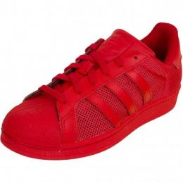 Adidas Originals Damen Sneaker Superstar rot/rot