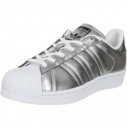 Adidas Originals Damen Sneaker Superstar silber