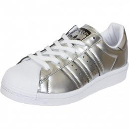 Adidas Originals Damen Sneaker Superstar silber/weiß