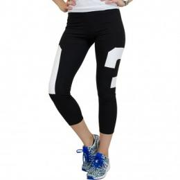Adidas Originals Leggings Basketball schwarz