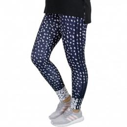 Adidas Originals Leggings Girls 3 Stripes dunkelblau/weiß