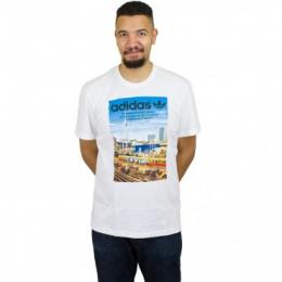 Adidas Originals T-Shirt Spree Vollgas weiß