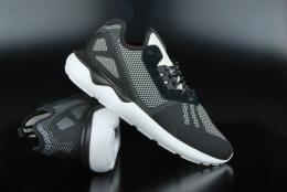Adidas Originals Tubular Runner Weave Core Black White Sneaker...