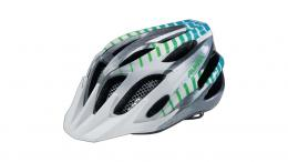 Alpina FB Jr. 2.0 Flash Jugendhelm WHITE-STEELGREY-GRADIENT 50-55CM