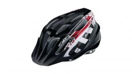 Alpina FB Jr. 2.0 Jugendhelm BLACK WHITE RED 50-55CM