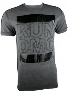 Amplified Herren Vintage Strass Shirt RUN DMC