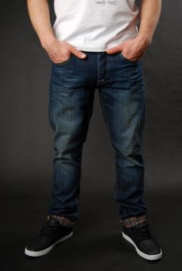 Billabong Duke Dark Used Denim Hose
