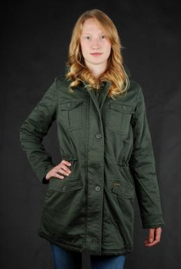 Billabong Wintermantel Aby Olive Parka Gr. L