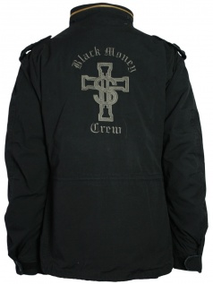 Black Money Crew Herren Jacke / Parker (L)