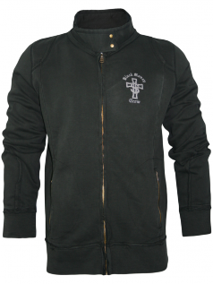 Black Money Crew Herren Track Jacke Cross