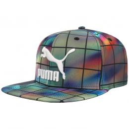 Colour Block Graphic Snapback Cap by PUMA  Basecap