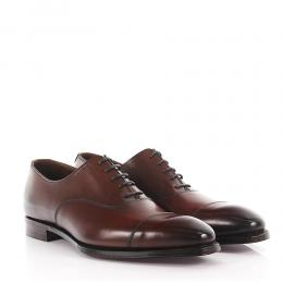 Crockett & Jones Businessschuhe Oxford Glattleder Kalbsleder  braun