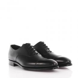Crockett & Jones Businessschuhe Oxford HAREWOOD Glattleder Kalbsleder  schwarz