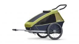 Croozer Kid for 1 2018 LEMON GREEN