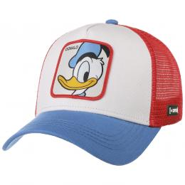 Disney Donald 2 Trucker Cap by Capslab  , Gr. One Size, Fb. weiß
