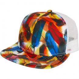 Djinns Trucker Cap Twisted weiß/multi
