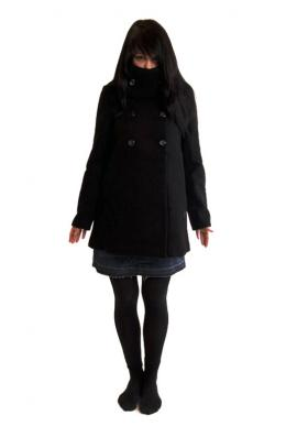 Element Girls Jacke Lova Black Mantel