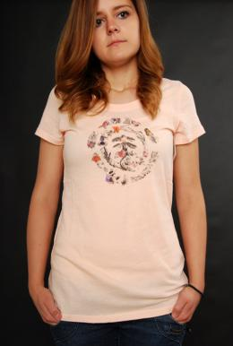 Element Habitat T-Shirt Peach Melba Girls