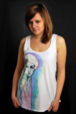 ELEMENT Headdress T-Shirt White Lisa Solberg Conscious by Nature...