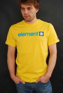 Element Logo T-Shirt Lemon Drop