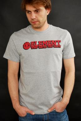 Element Player T-Shirt Grey Heather