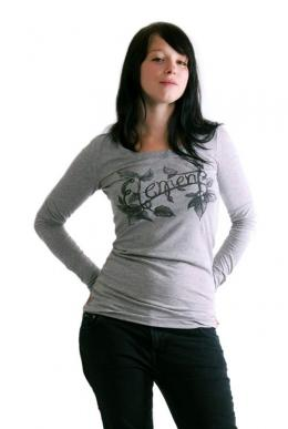 Element T Shirt Girls Vine Grey Heather