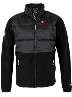 Geographical Norway Herren Jacke Bump (XXL) (schwarz)