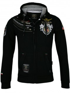 Geographical Norway Herren Jacke Faero (schwarz)