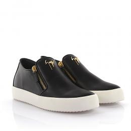 Giuseppe Zanotti Sneaker Adam May London Leder schwarz
