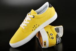 Globe Schuhe Cleptomanicx Lighthouse Yellow Sneaker US7/EU40