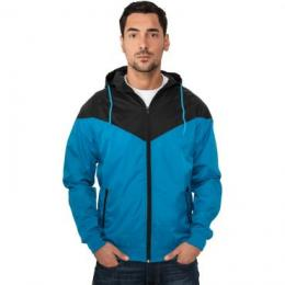 Jacke Urban Classics Arrow Windrunner Regular Fit türkis/black