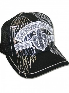 Laguna Beach Jeans Unisex Strass Base Cap Huntington Beach
