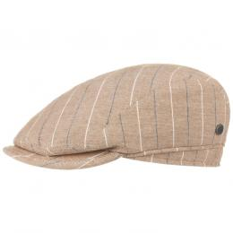 Lerico Stripes Flatcap by bugatti  , Gr. 57 cm, Fb. beige