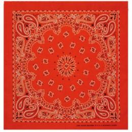 MasterDis Bandana Original Paisley orange