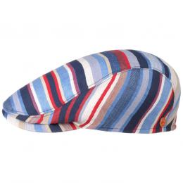 Matteo Stripes Flatcap by Mayser  , Gr. 60 cm, Fb. blau