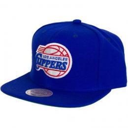 Mitchell & Ness Cap Solid Team Colours LA Clippers dunkelblau