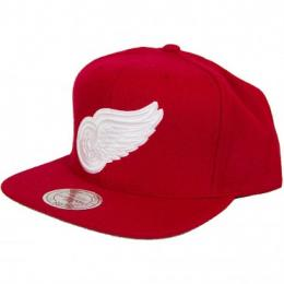 Mitchell & Ness Snapback Cap Detroit Red Wings rot