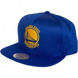 Mitchell & Ness Snapback Cap NBA Golden State Warrior royal