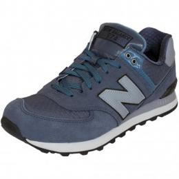 New Balance Sneaker ML 574 D Suede/Textil/Synthetik grau