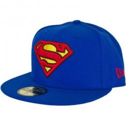 New Era 59Fifty Cap Character Basic Superman blue/red/yellow
