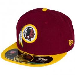 New Era 59FIFTY Cap Washington Redskins Authentic Performance On-Field Cap
