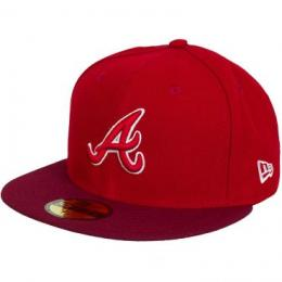 New Era 59Fifty Fitted Cap GER MLB Two Tone Atl.Braves original