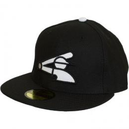 New Era 59Fifty Fitted Cap MLB Diamond Authentic Chicago White Sox schwarz